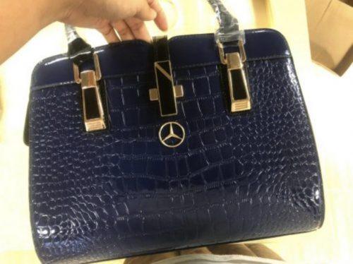 MCD Crocodile Leather Tote Bag photo review